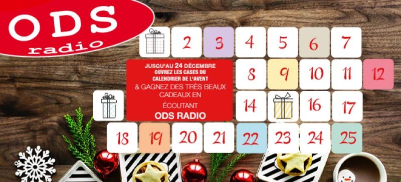 Jouez tous les jours au calendrier de l'Avent ODS radio !