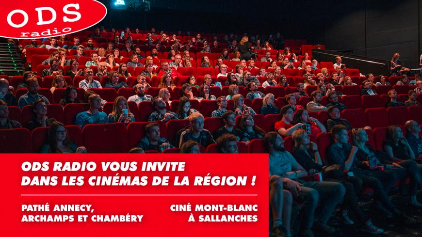 ODS radio vous offre vos places de cinéma !