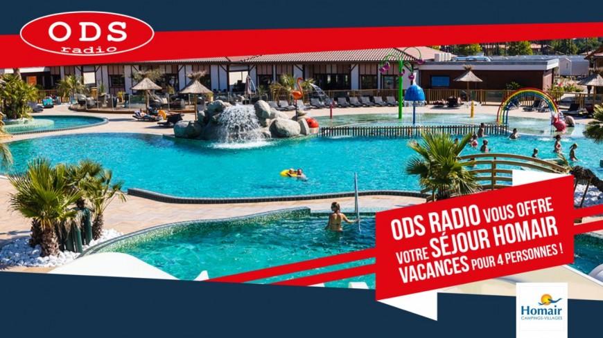 ODS radio vous offre vos vacances pour 4 personnes !