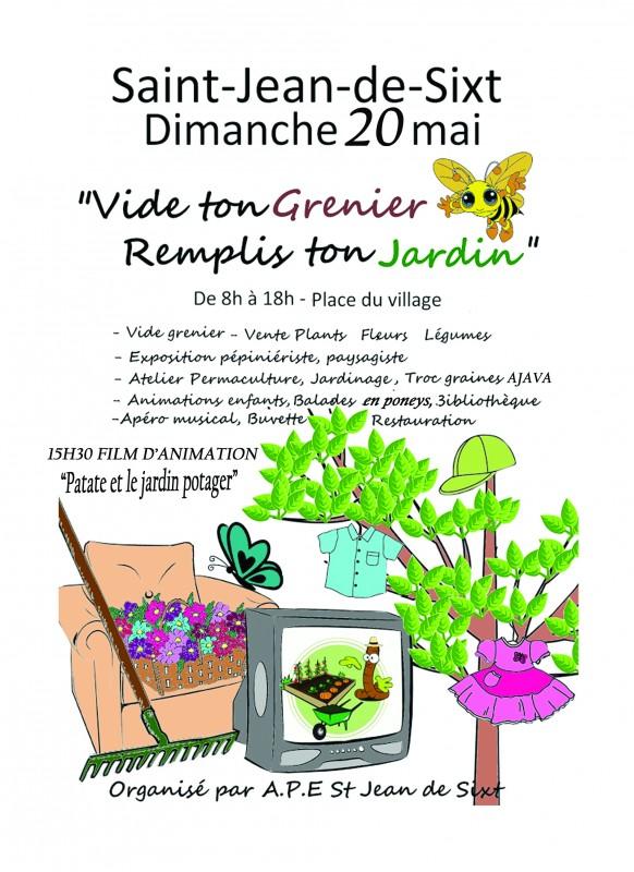 Vide ton grenier, remplis ton jardin ! - Agenda