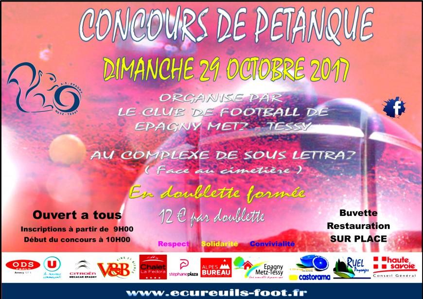 Partenaire Tournoi De Pétanque à Metz Tessy Agenda