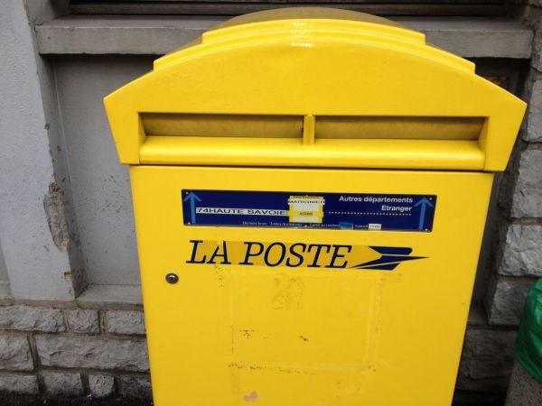 Gr ve des facteurs faverges for La poste suivi de courrier temporaire