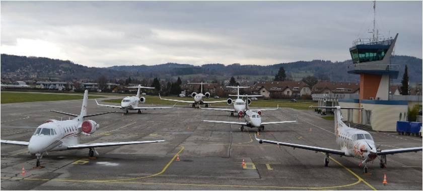 Des travaux à l'aérodrome d'Annecy-Mont-Blanc
