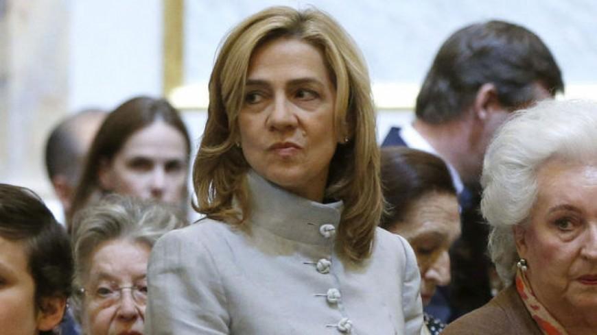 Cristina d'Espagne dans la tourmente