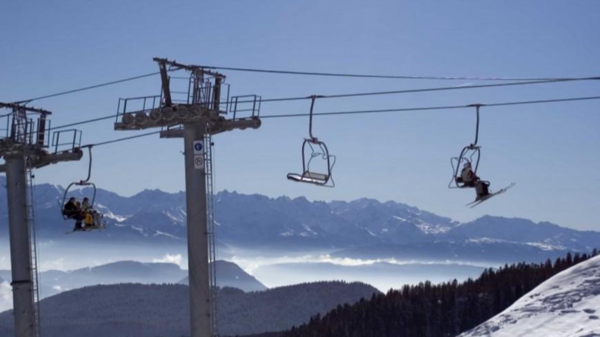 Des skieurs évacués d'un télésiège à Avoriaz