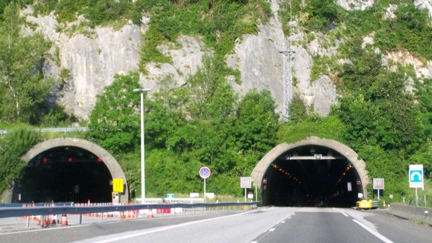 Un accident dans le tunnel de Dullin mercredi soir
