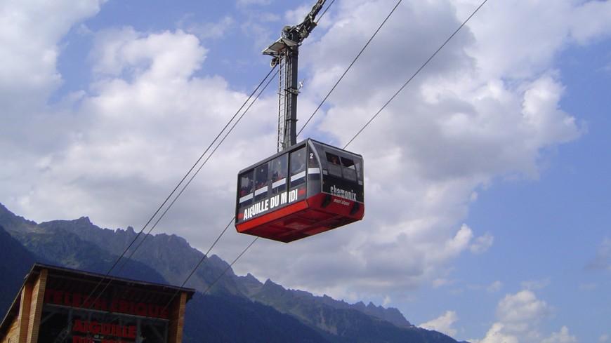 Fermeture du téléphérique de l'Aiguille du Midi