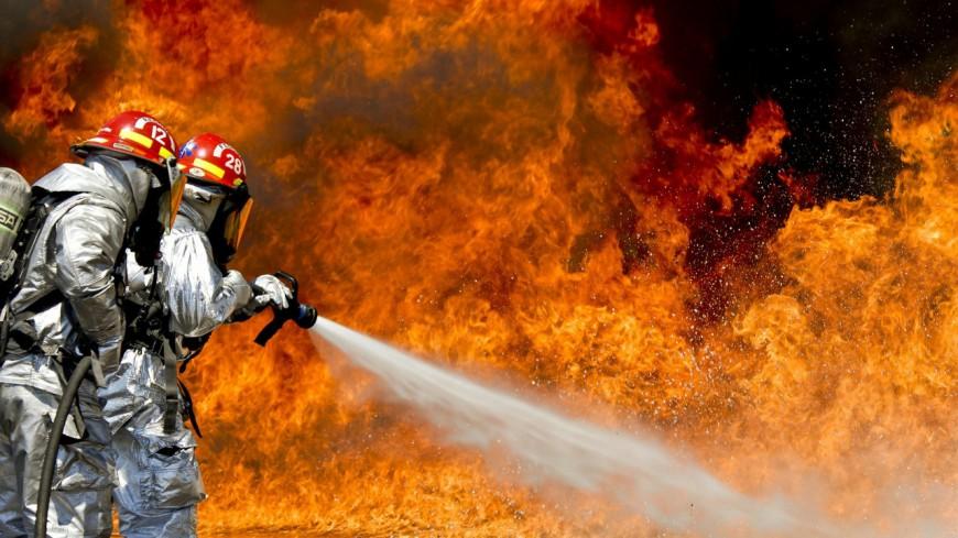 Un feu de cheminée à Sallanches