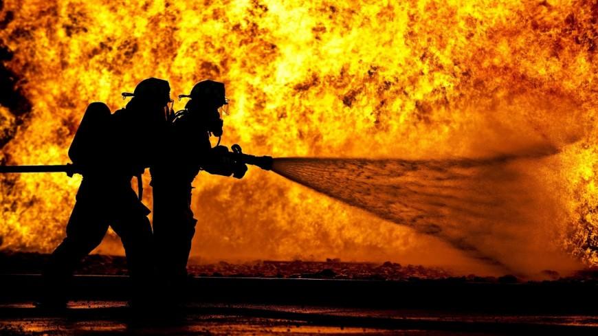 Un incendie à Chaumont près de Frangy