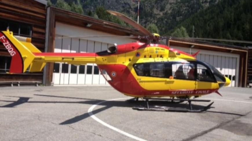 Un homme évacué à Chamonix jeudi