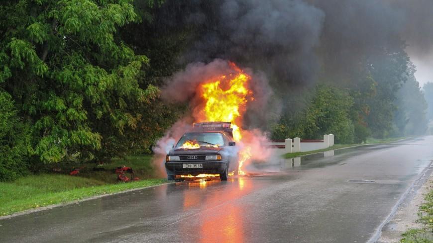 Un véhicule en feu à Annecy mercredi