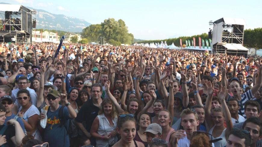 Top départ pour le festival Musilac à Aix-les-Bains