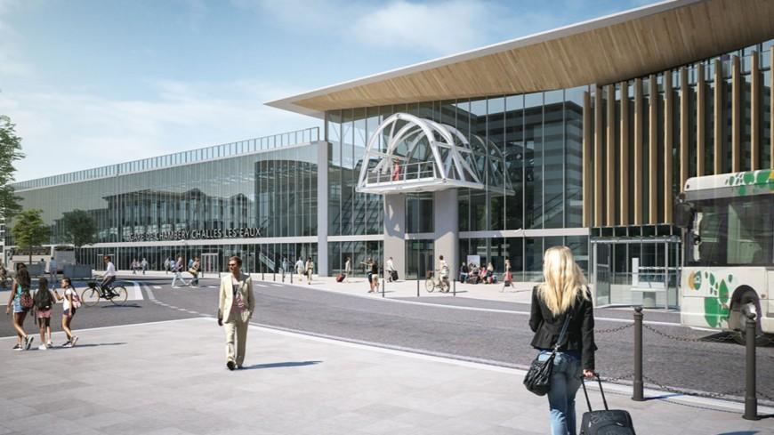 La nouvelle gare de Chambéry inaugurée