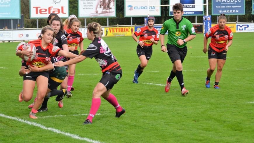 Du rugby féminin ce week-end à Rumilly !