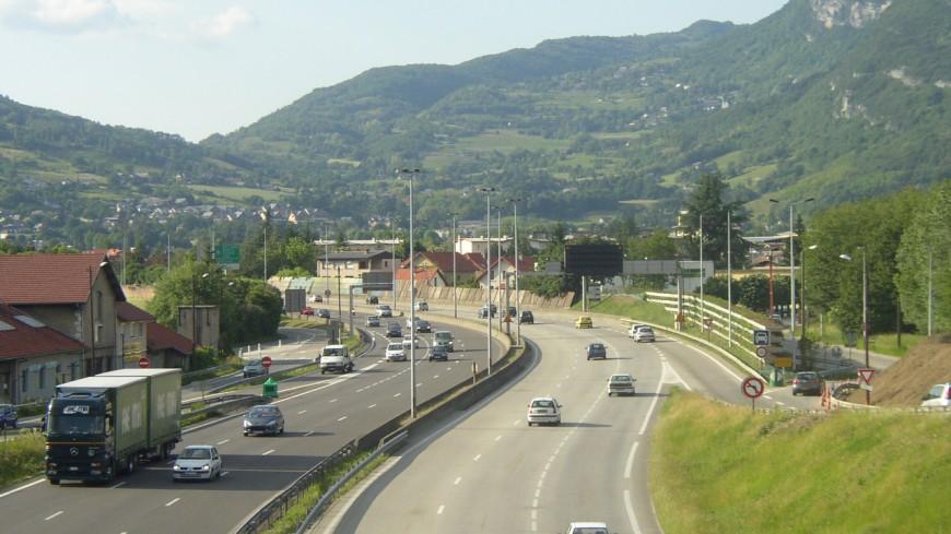 Chambéry : la sortie 15 de la VRU fermée mardi