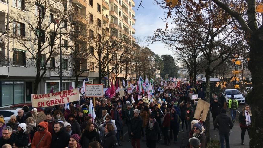 La mobilisation a été forte en pays de Savoie