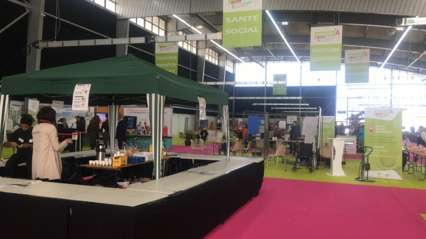 Le Salon Prep-A s'est installé à La Roche-sur-Foron