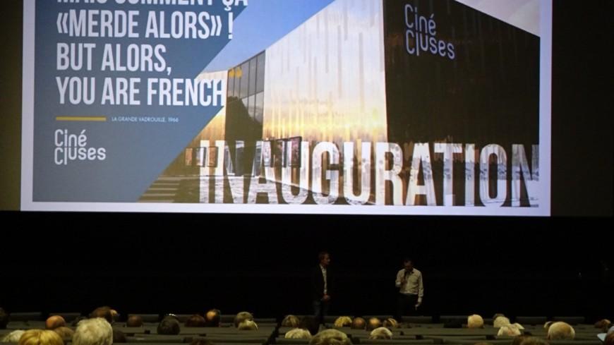 Inauguration du Ciné-Cluses