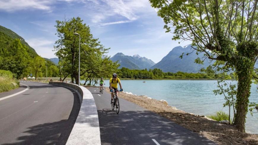 Une nouvelle piste cyclable relie les Marquisats et le Pâquier