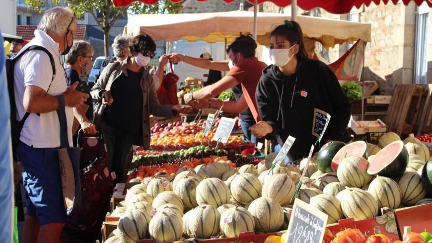 Annecy : le port du masque obligatoire sur les marchés