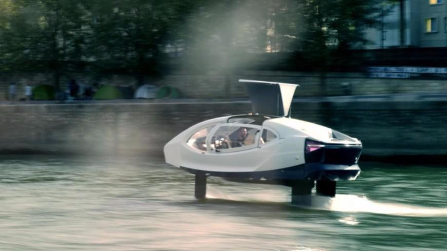 Annecy : des taxis volants sur l'eau pourraient être mis en place en 2021 ! (vidéo)