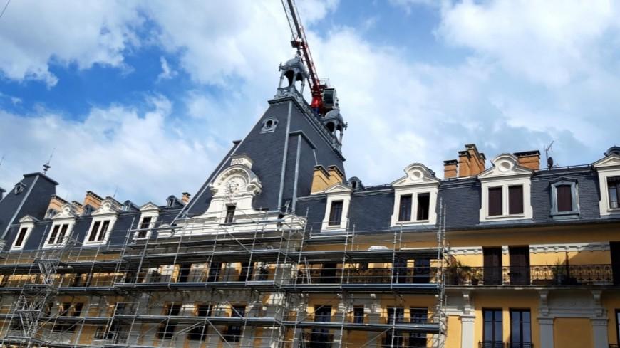 Aix-les-Bains :le Bernascon est toujours en travaux cinq ans après avoir pris feu