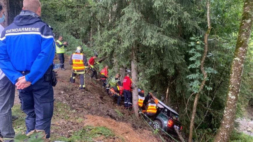 Megève : un accident de voiture mortel