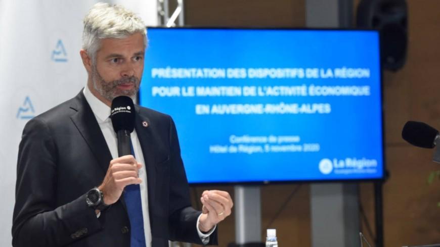 Laurent Wauquiez en visite à Chambéry