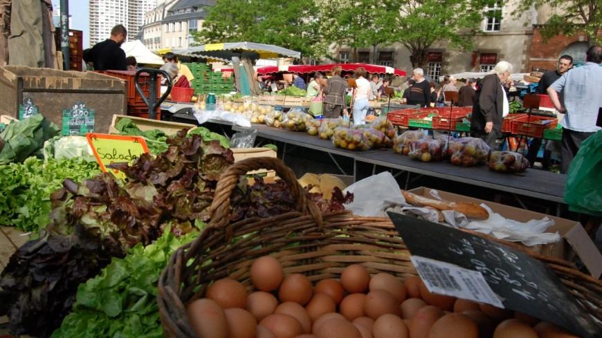 Ça bouge du côté du marché de Chambéry