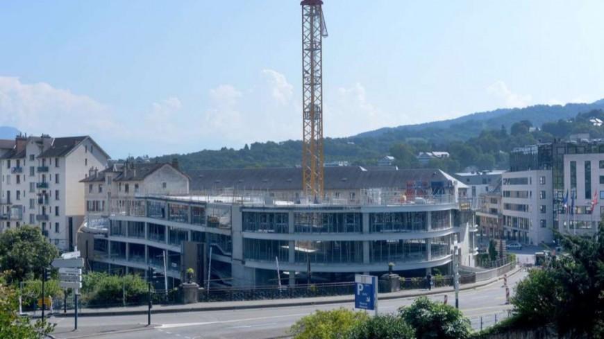 Chambéry : le projet initial pour le parking Ravet