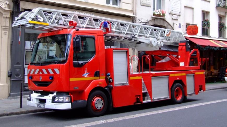 Un départ de feu dans le centre-ville de Cluses