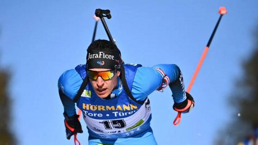 Biathlon : Quentin Fillon-Maillet décroche le bronze