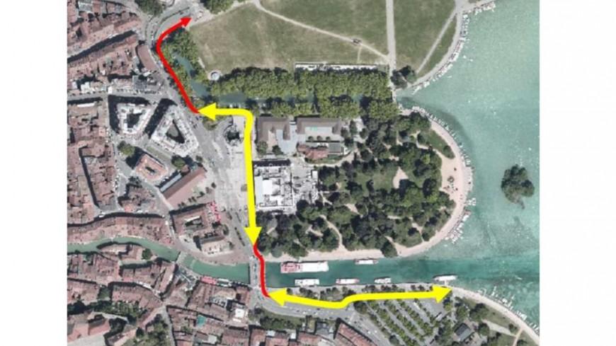 Annecy veut boucler la piste cyclable du lac