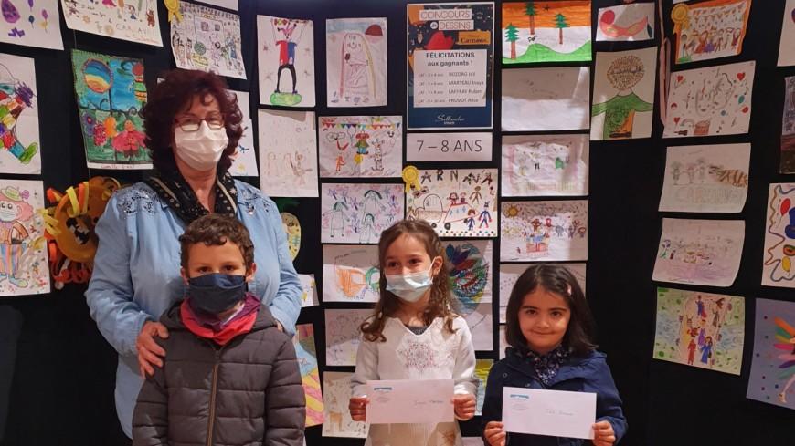 Sallanches : 4 lauréats du concours de dessins
