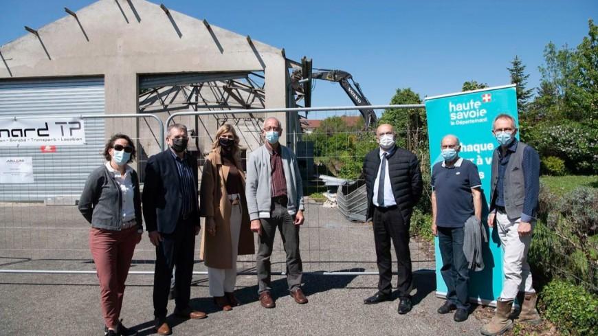 Seyssel : lancement du futur pôle médico-social