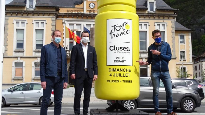 Le Tour de France se prépare déjà à Cluses