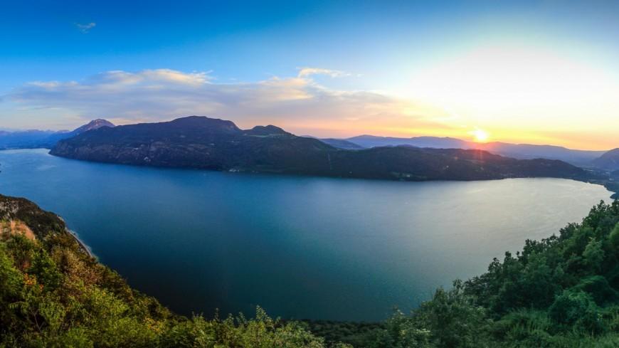Lac du Bourget - La baisse artificielle du niveau de l'eau commence ce 1er septembre !