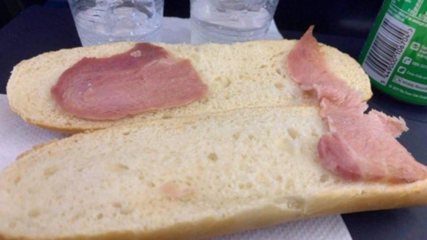Ce sandwich acheté dans un avion fait réagir les internautes (photo)