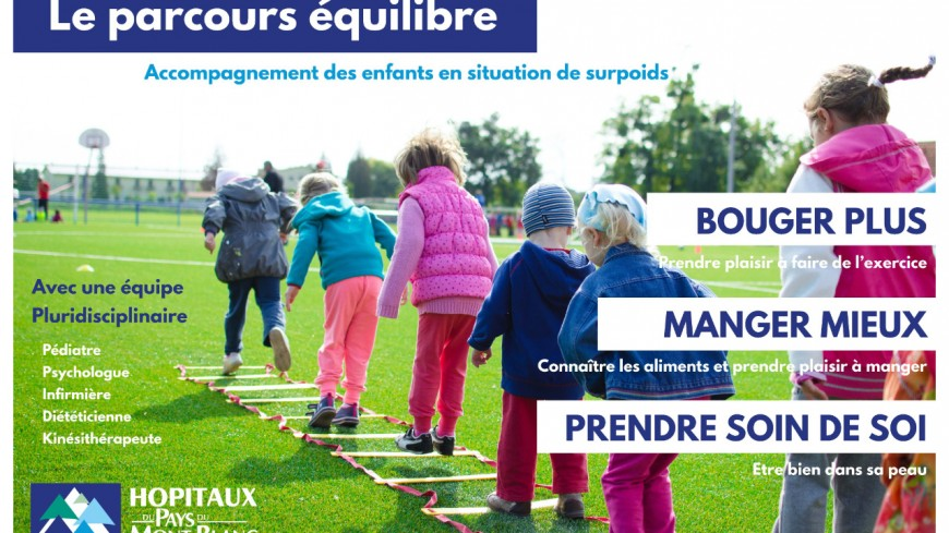 Le CHI Mont-Blanc lutte contre l'obésité infantile