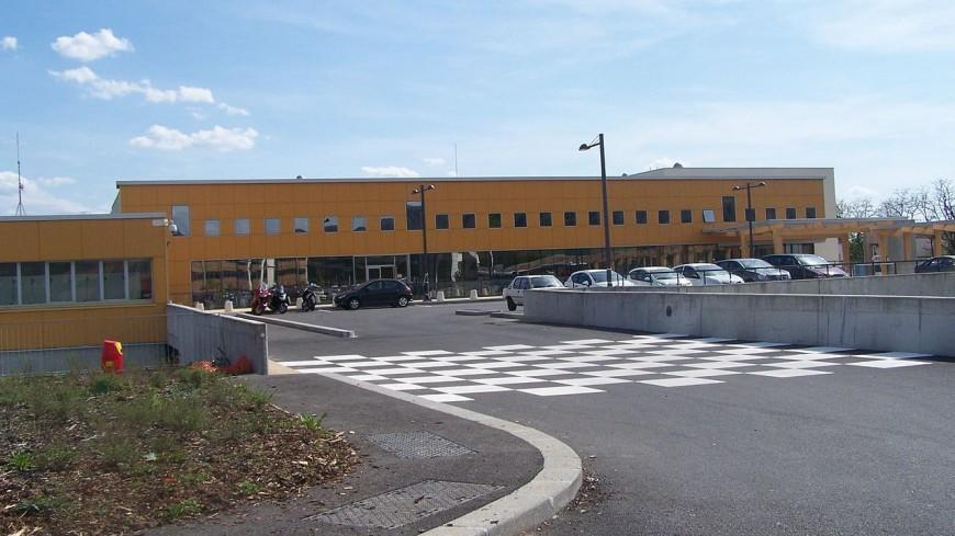 Un clean-up aux abords de l'hôpital d'Annecy
