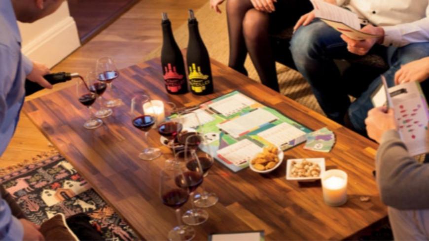 Ce jeu de société vous fait découvrir, et déguster, du vin !