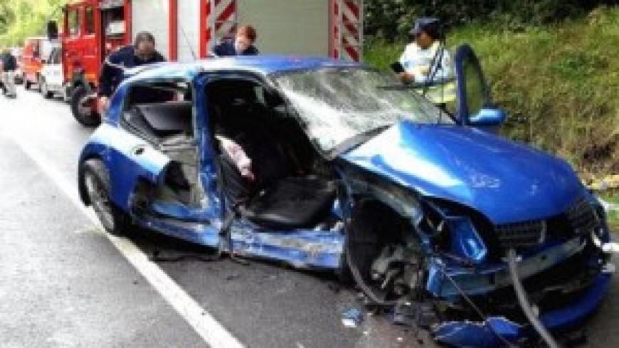 Deux blessés légers après un accident à Albertville