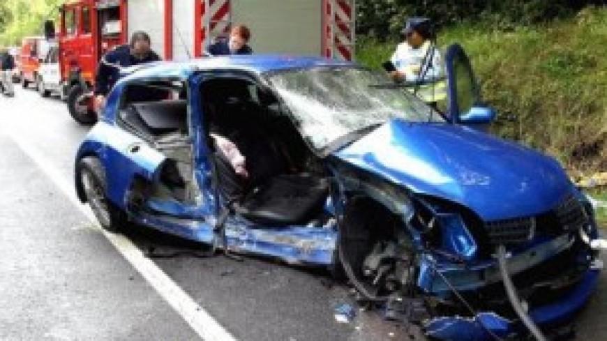 Un grave accident de la route dans l'Ain