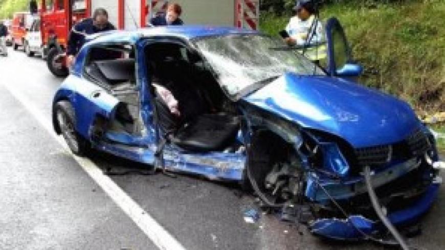 Un grave accident de la route à Scionzier