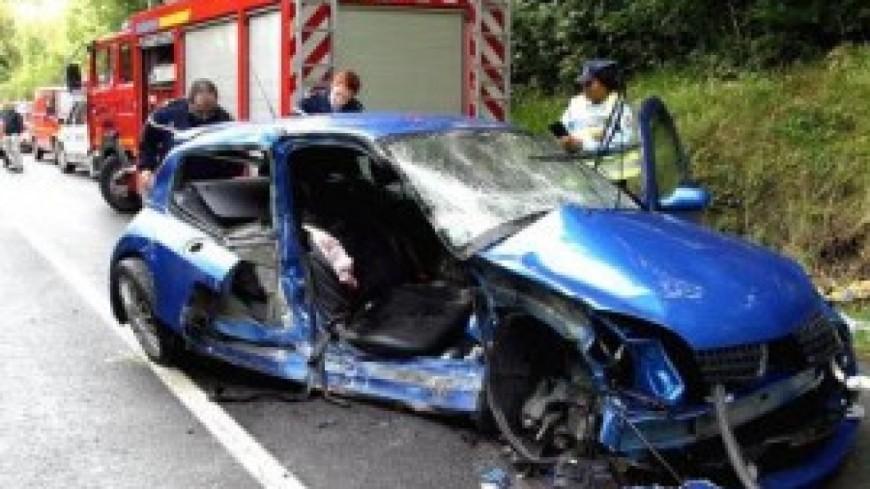 Un grave accident de la route en Savoie
