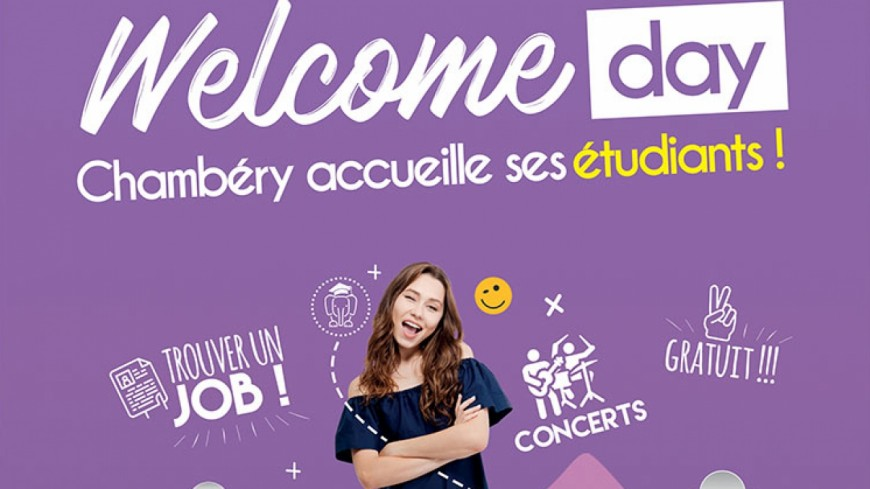 Une journée « Welcome Day » à Chambéry
