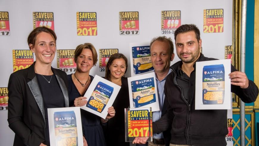 Les produits d'Alpina Savoie récompensés
