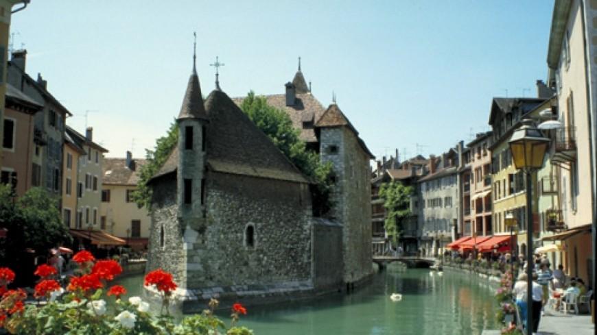 Réouverture du Palais de l'île à Annecy