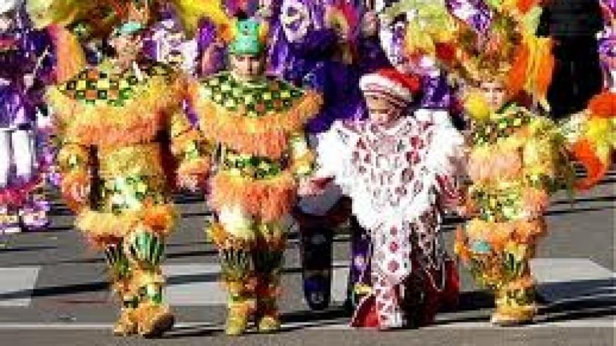 Le carnaval de Praz de Lys – Sommand décalé