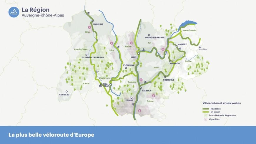 Une véloroute régionale de 400 km ?